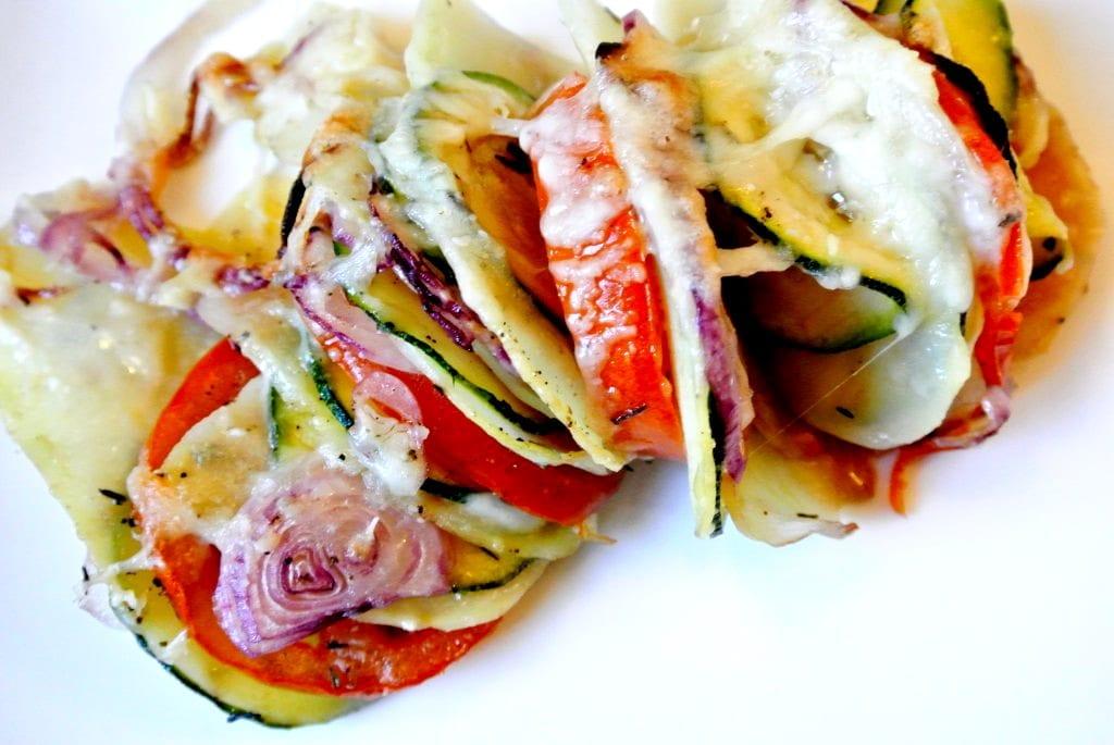 Gezonde groenten-ovenschotel + filmpje