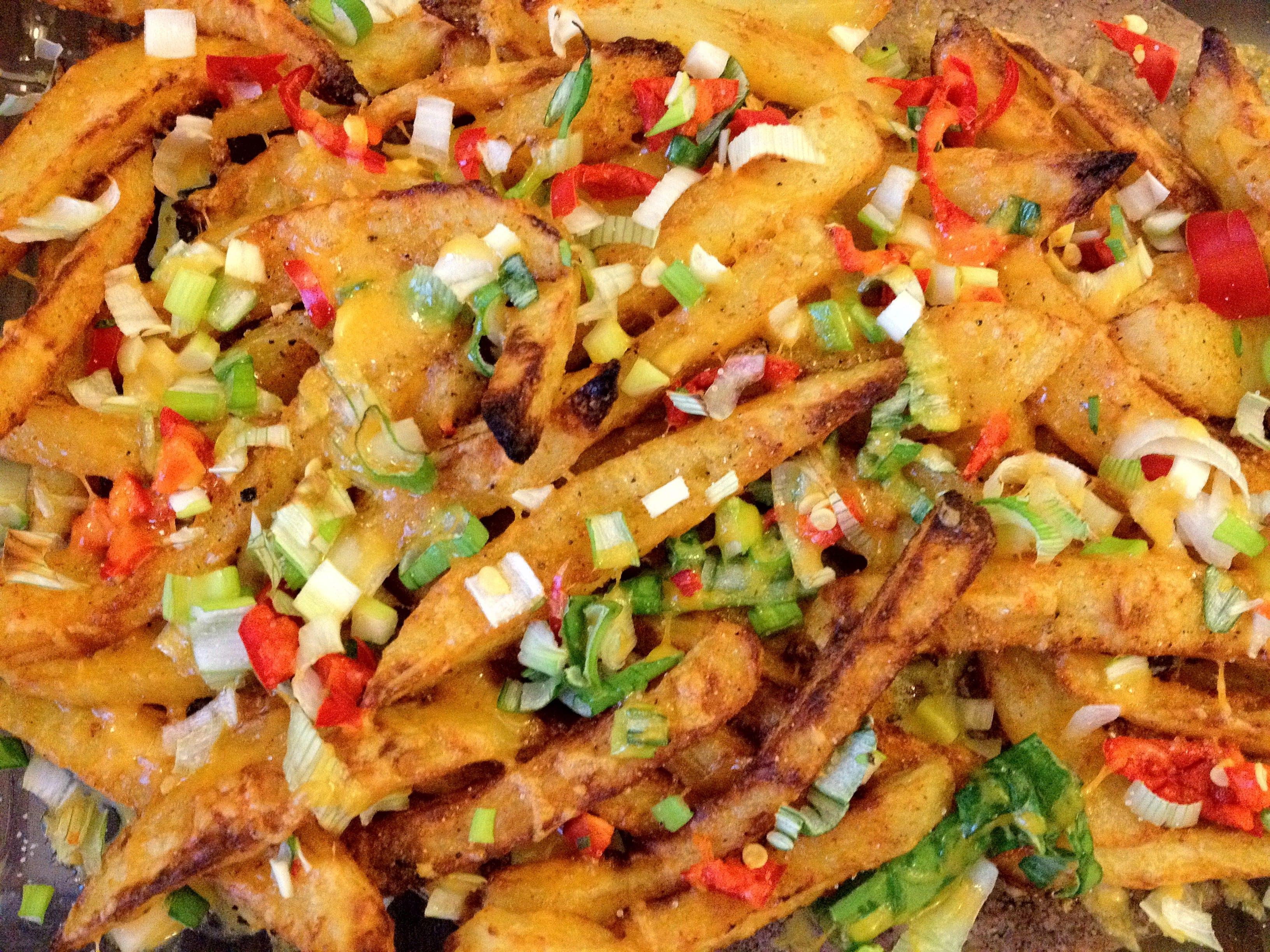 Zelfgemaakte lente-frietjes uit de oven