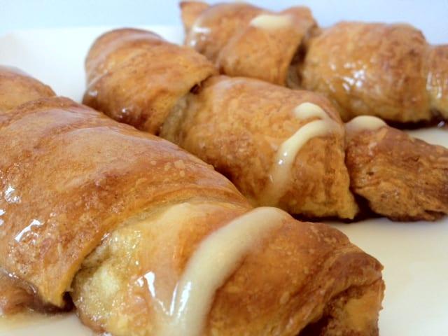 Heerlijke suiker-kaneel croissantjes