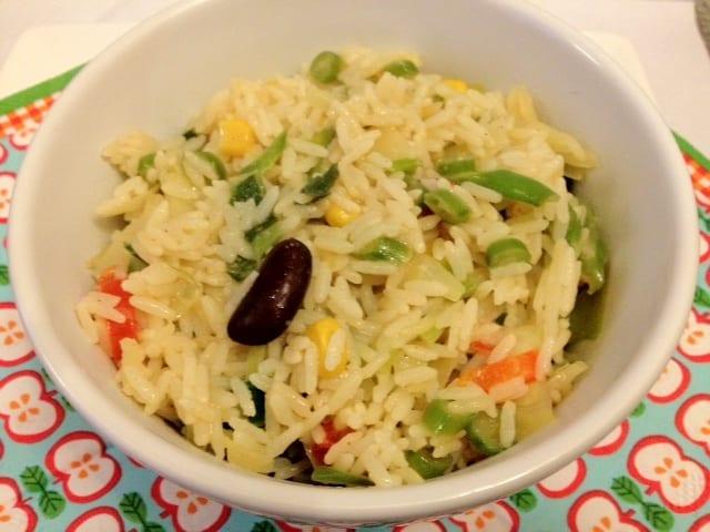 Mexicaanse rijst met groentes