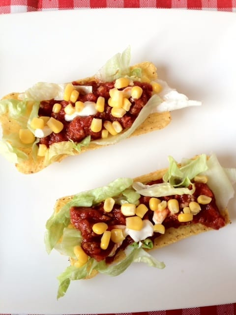 Mexicaanse tacobootjes