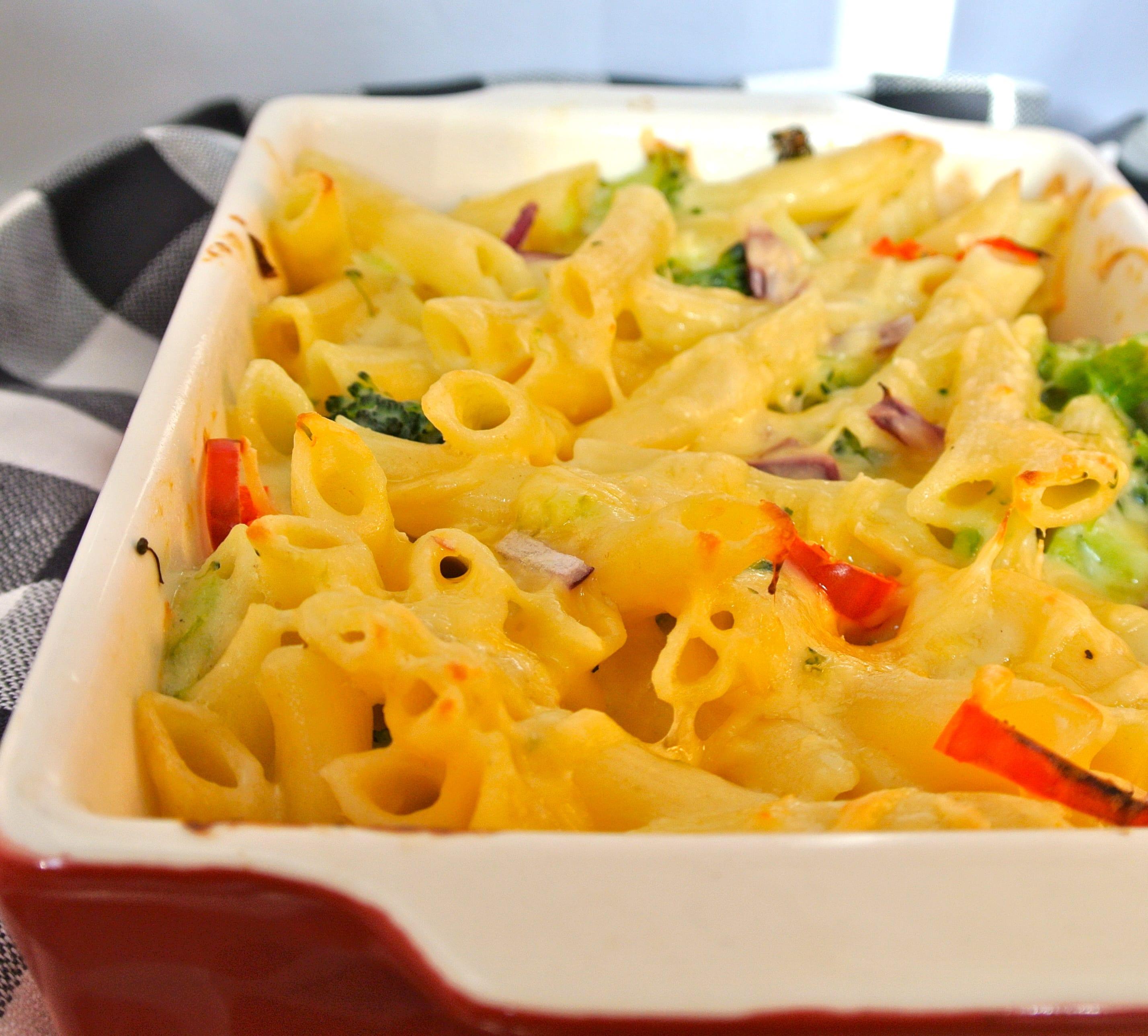 Lekkere pasta-ovenschotel met broccoli