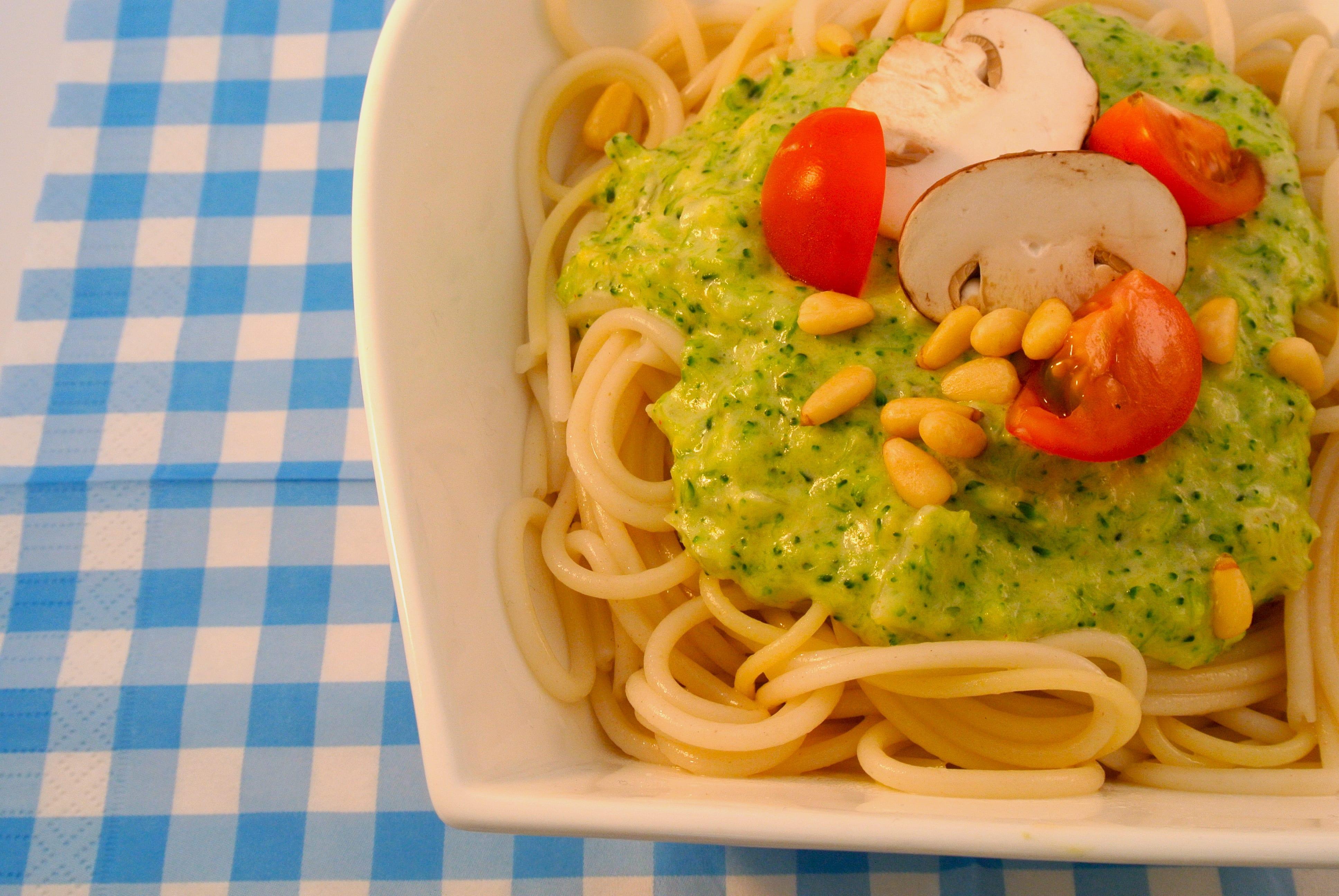 Heerlijke pasta met broccolisaus