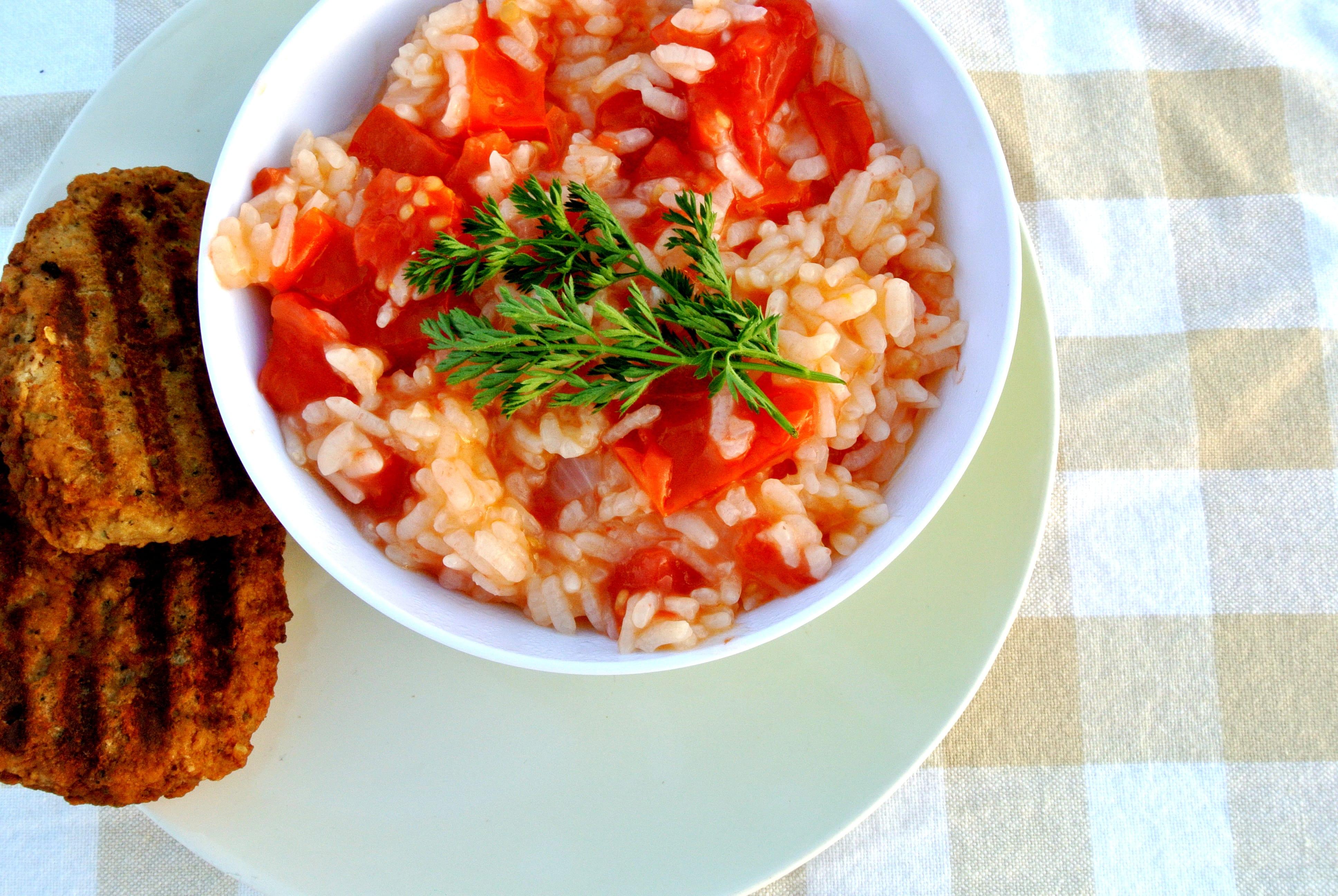 Filmpje: Griekse tomatenrijst