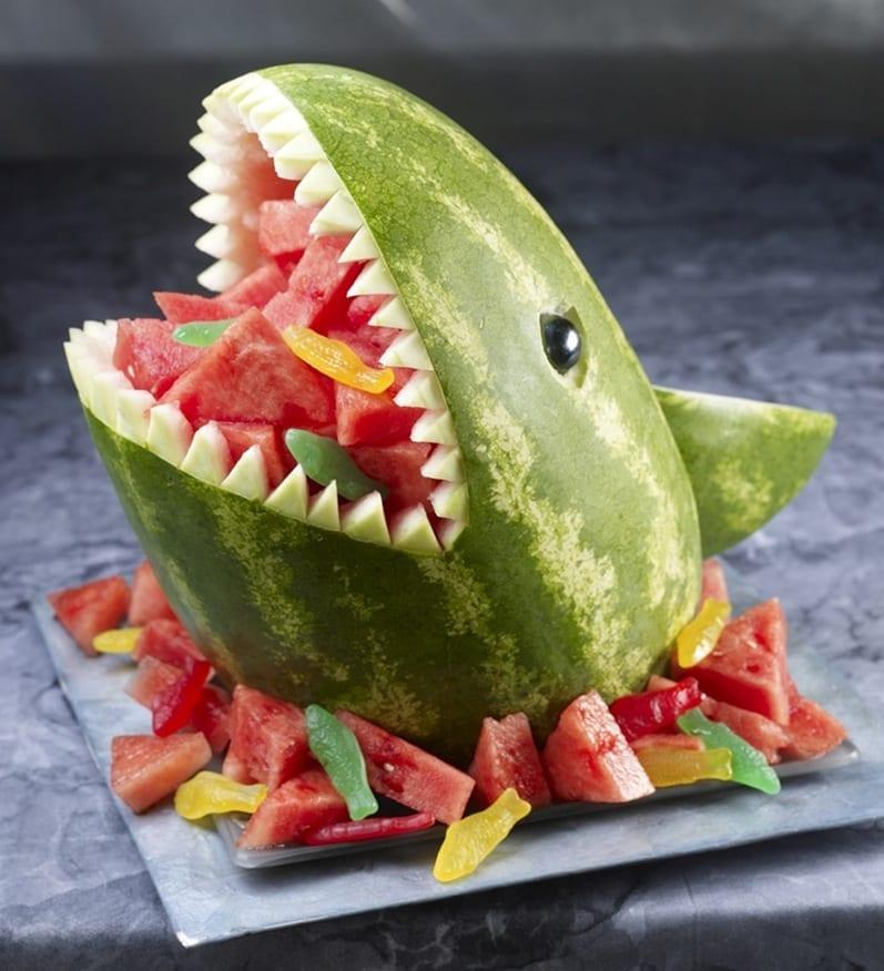 Wat te doen met een watermeloen?