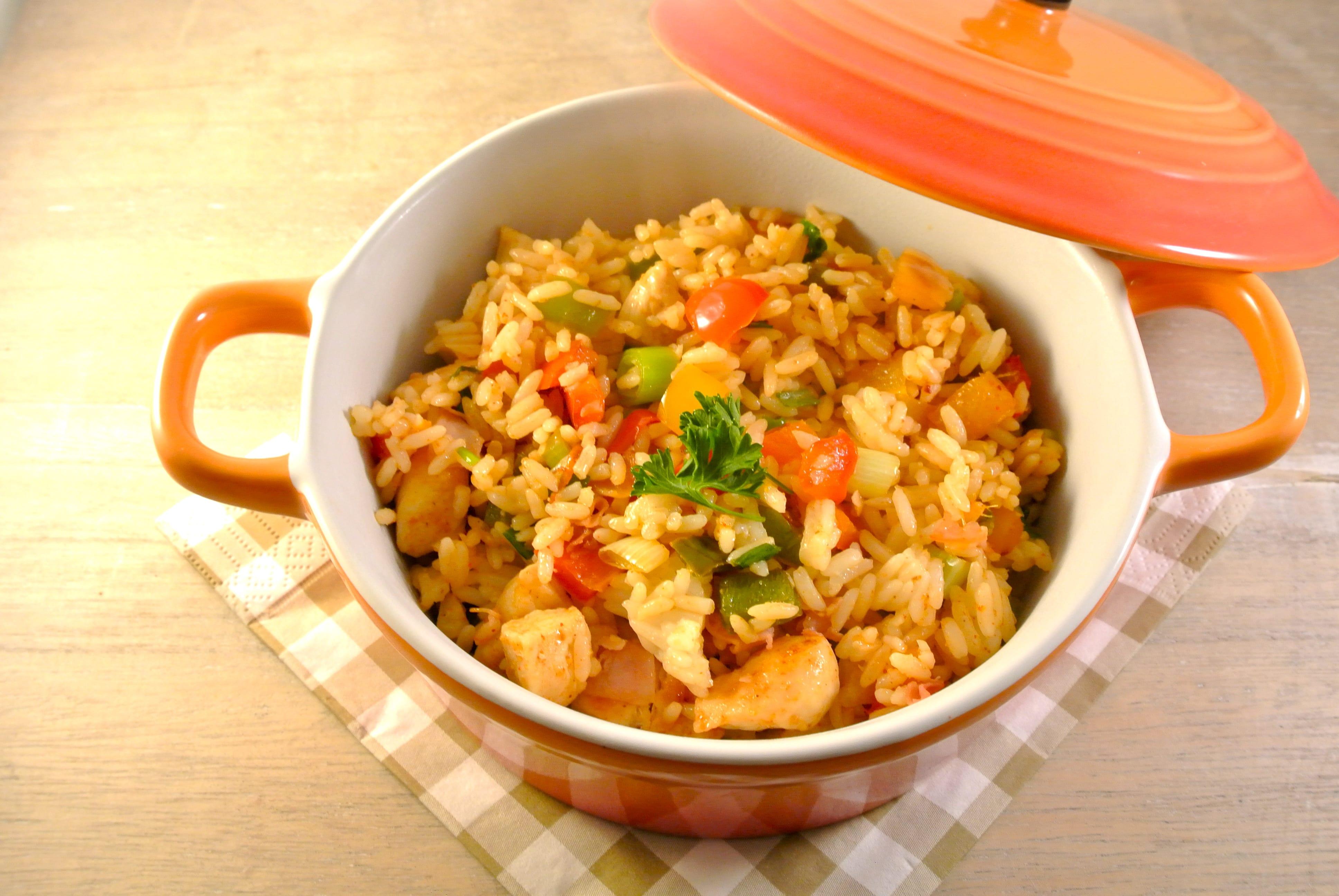 Jambalaya, rijstschotel uit Louisiana