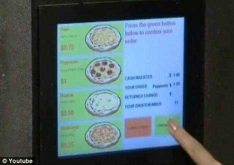 Pizza automaat