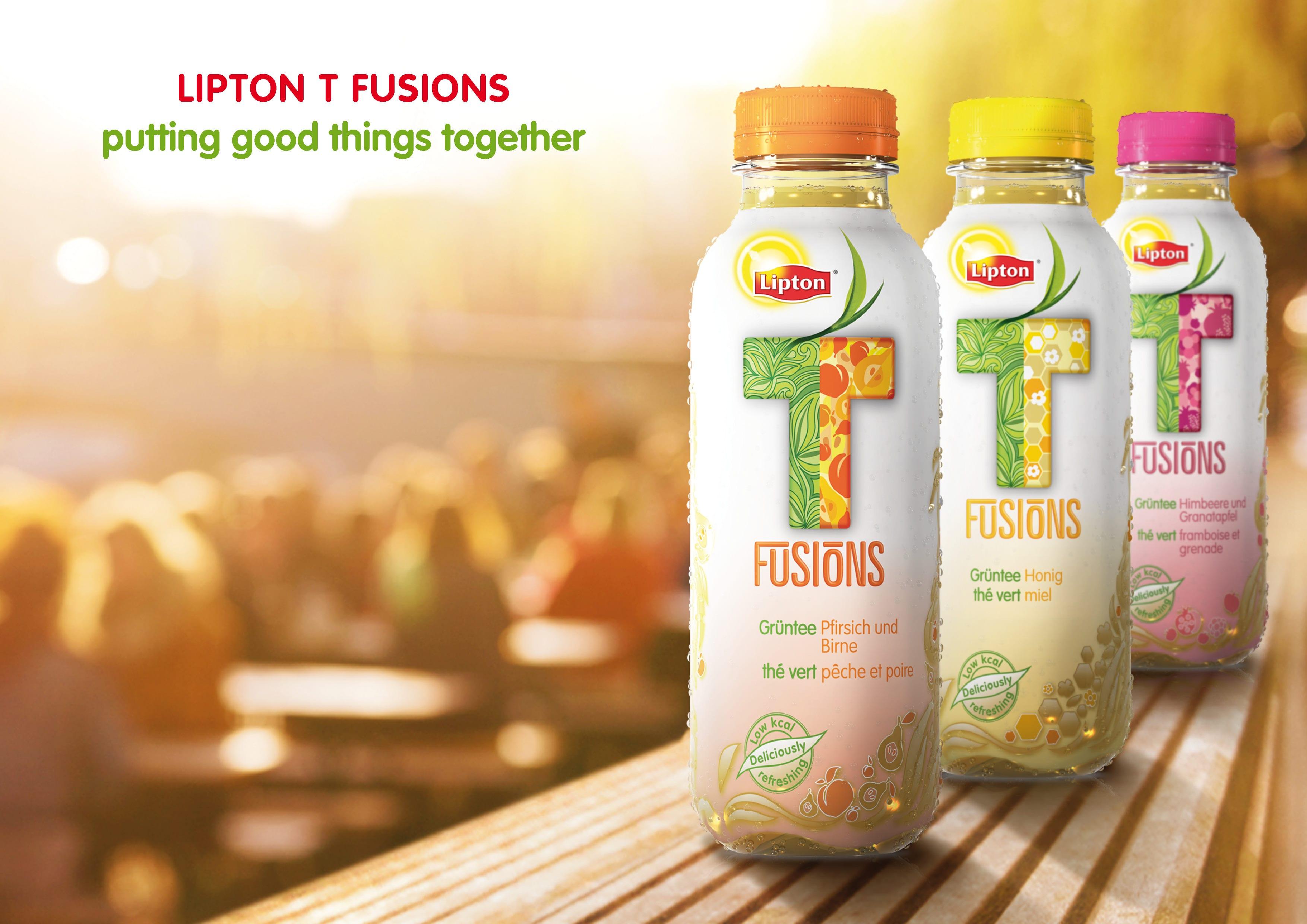 Lipton T Fusions, de nieuwe generatie Ice Tea