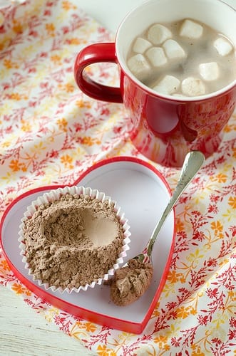 Maak je eigen chocolademelk mix