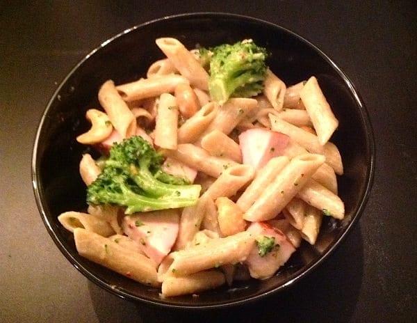 Ingezonden door Claudia: penne met broccoli en gerookte kip