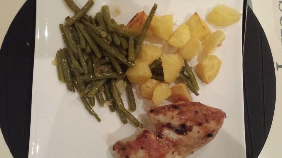 Ingezonden door Cindy: citroen- en knoflook ovenschotel