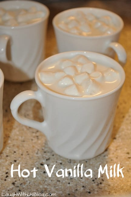 Warme vanilledrank