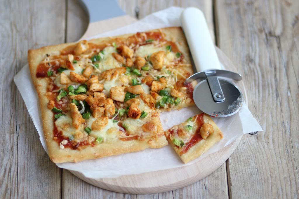 Zelf Barbecue Maken : Barbecue chicken pizza lekker en simpel