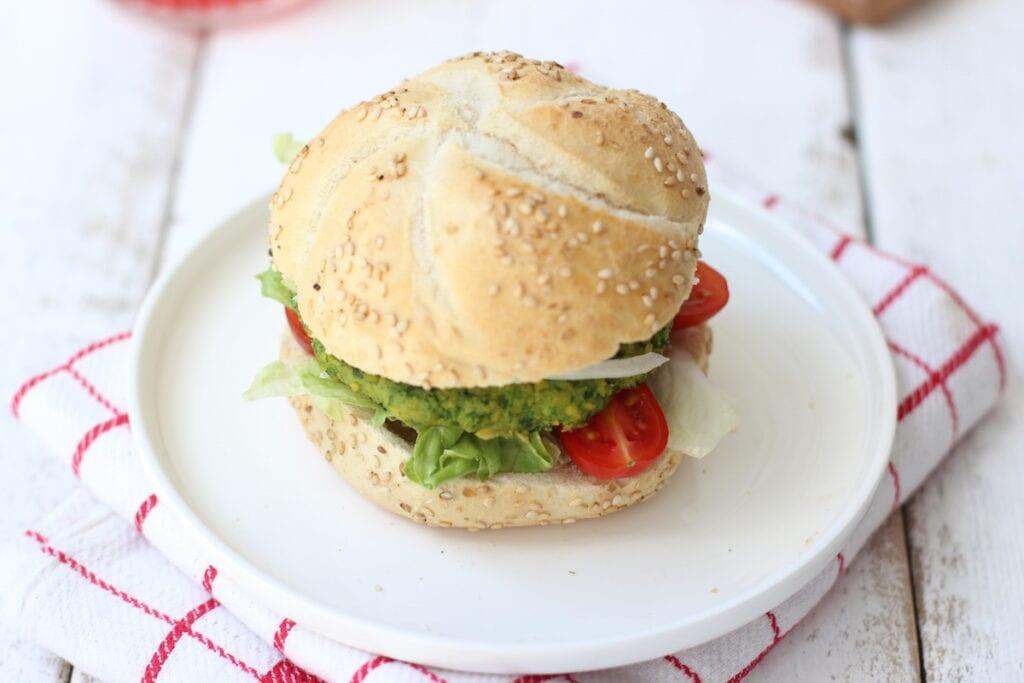 Broodje spinaziefalafel