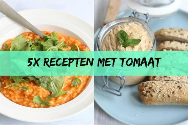 5x recepten met tomaat