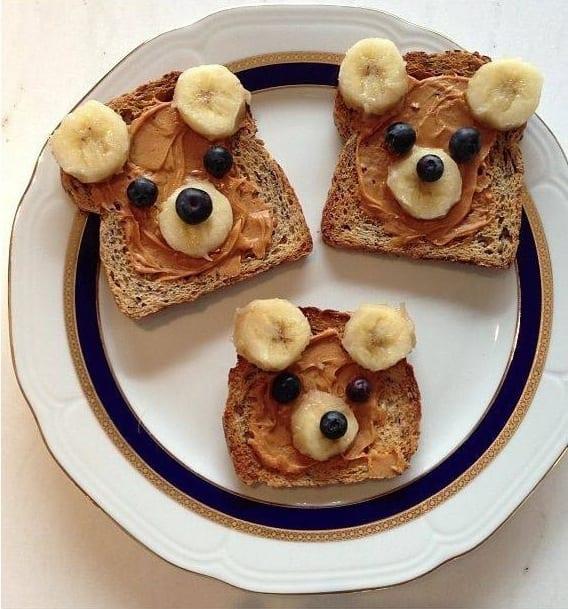 Ontbijt: Brood beertjes