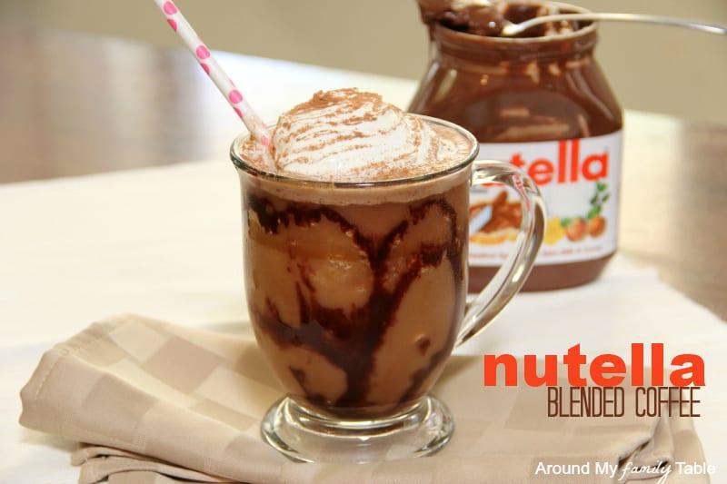Nutella ijskoffie