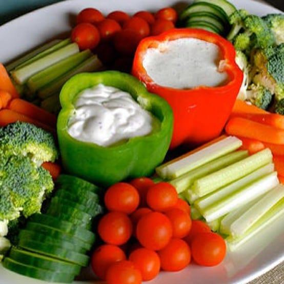 Handige tip voor groenten met dip