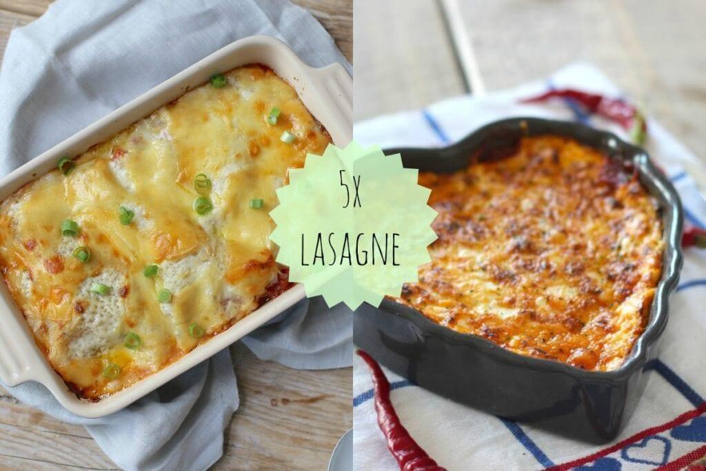 5x de lekkerste lasagne recepten