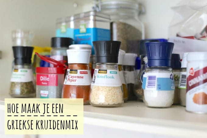 Hoe maak je zelf een Griekse kruidenmix?