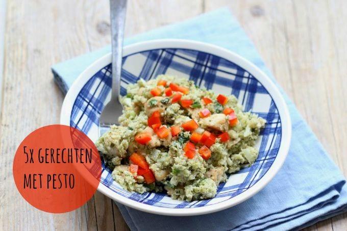5x gerechten met pesto