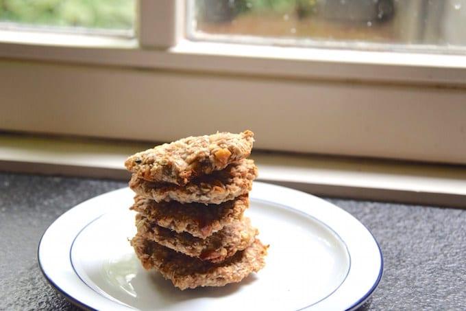Gezonde koekjes met noten