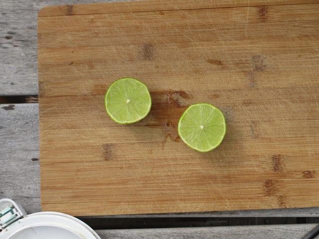 Limoen-banaansmoothie