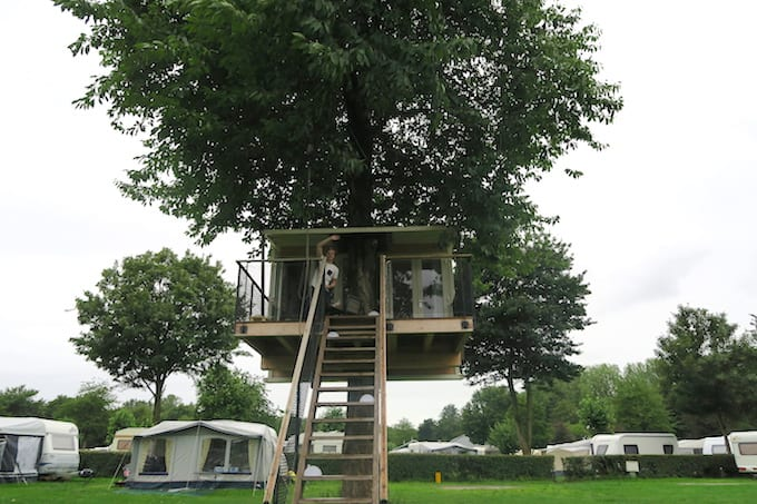 Tip: overnachten in een boomhut