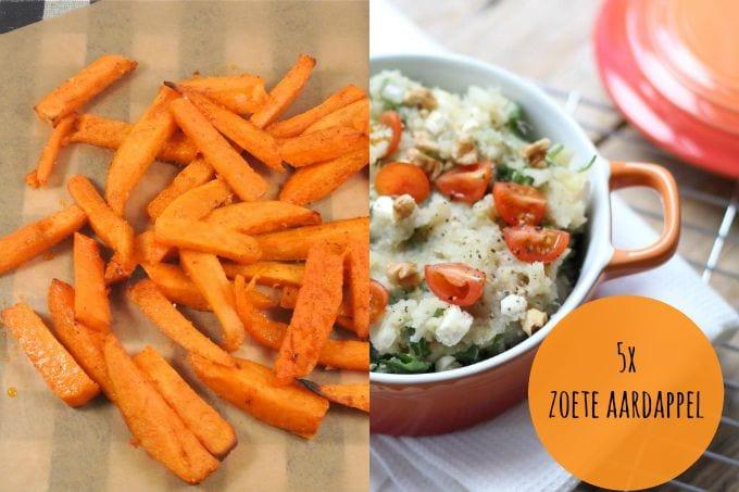 5x recepten met zoete aardappel - lekker en simpel