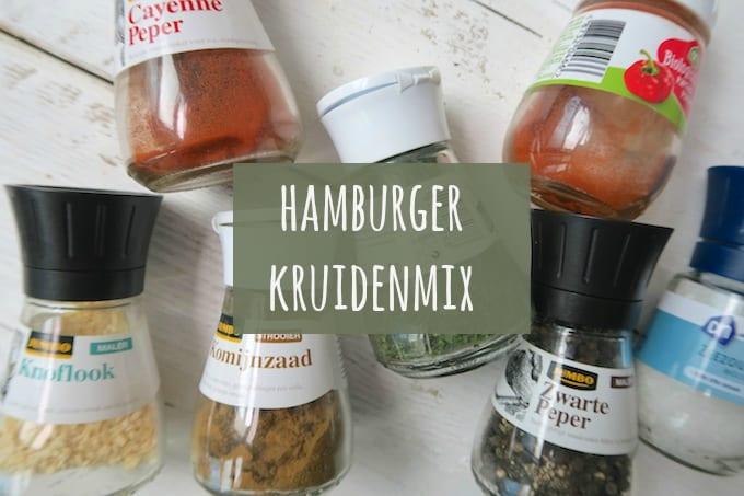 Hoe maak je zelf hamburgerkruiden?