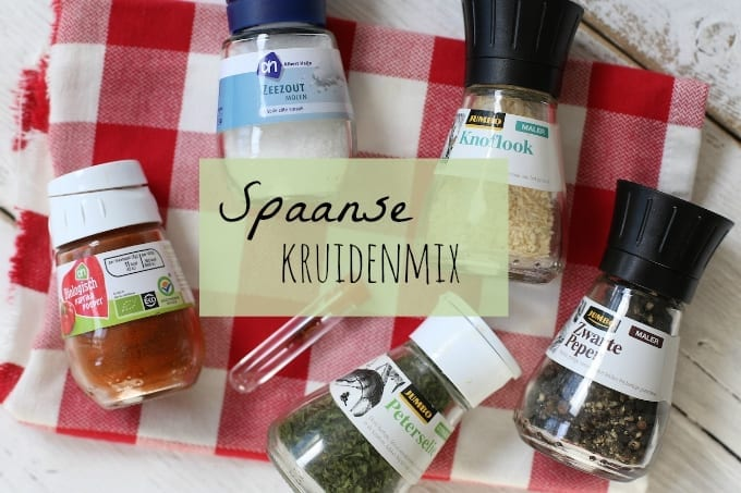 Spaanse kruidenmix