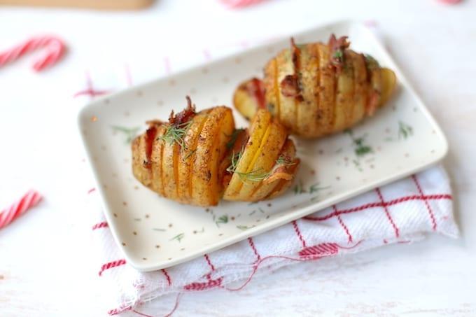 Kerst – Aardappelwaaier met spek