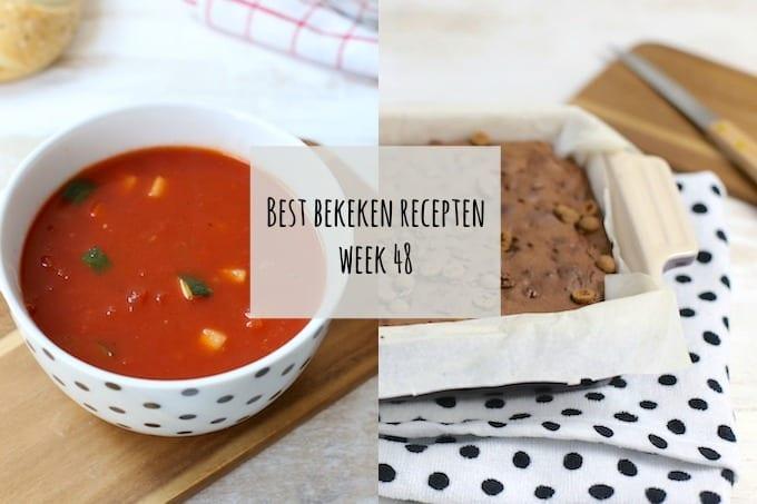 Best bekeken recepten van week 48