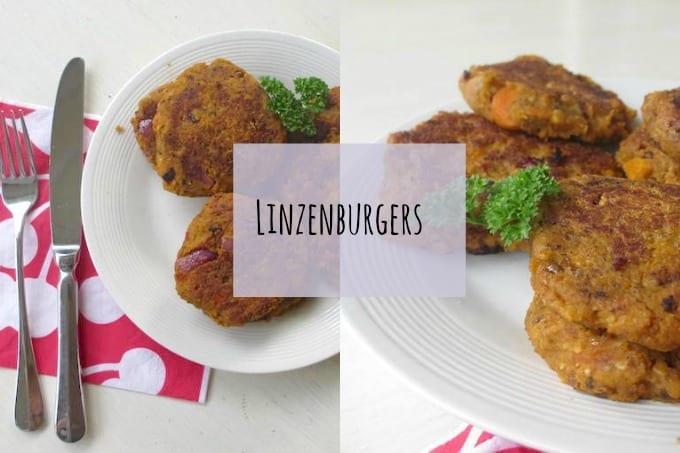 Zelfgemaakte linzenburgers