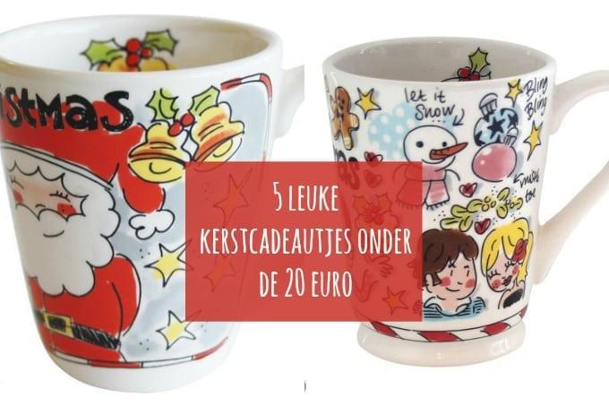 5 leuke kerstcadeautjes onder de 20 euro