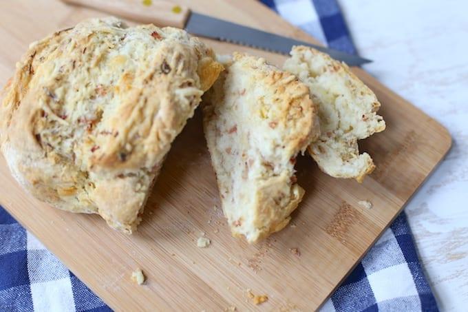 Ham-kaasbrood