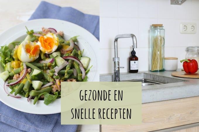 snelle recepten gezond