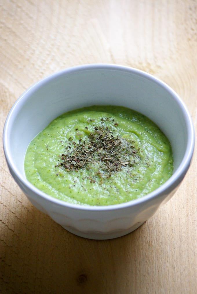 Snelle broccolisoep
