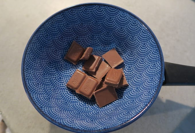 chocolade smelten