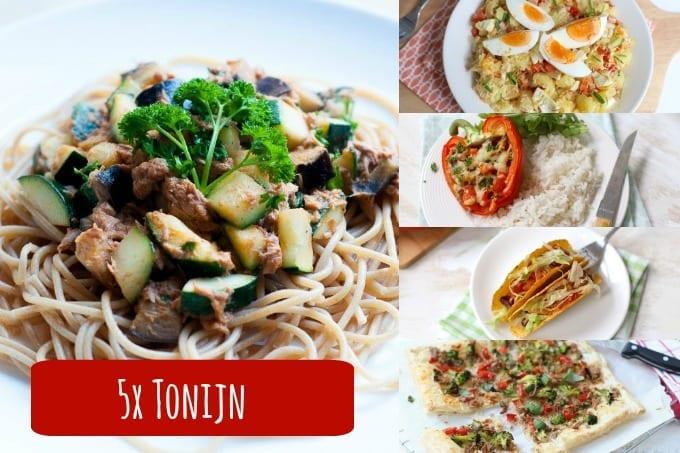 Recepten met tonijn