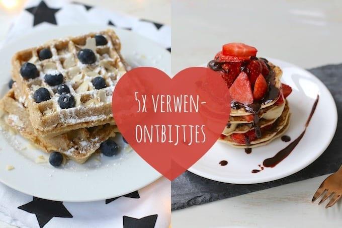 5x verwenontbijtjes voor Valentijnsdag