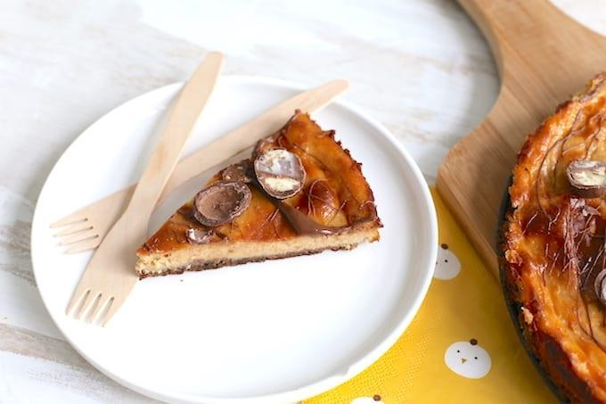 Cheesecake met paaseitjes