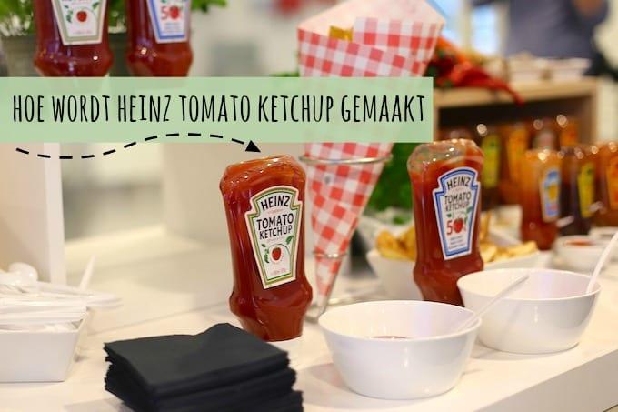 Hoe wordt Heinz tomato ketchup gemaakt?