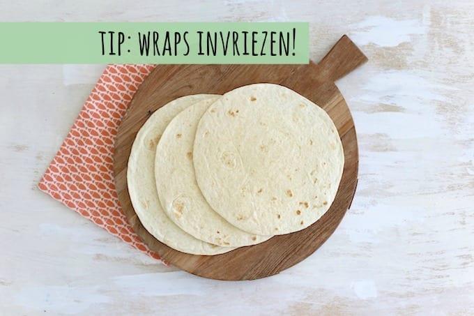 Tip: wraps invriezen