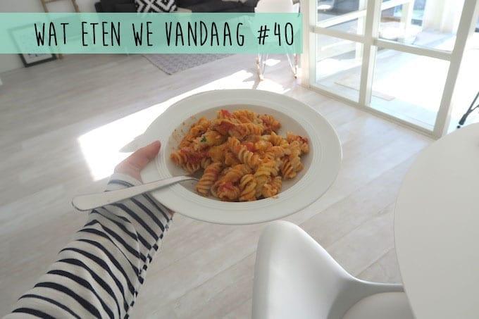 Wat eten we vandaag #40