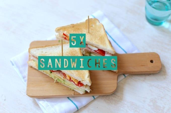 5x sandwiches