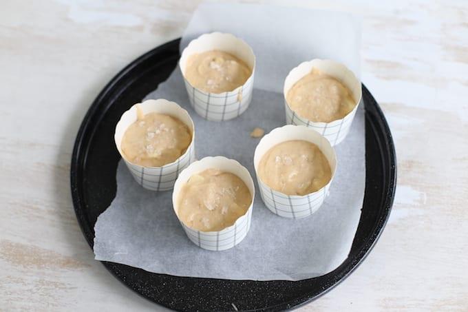 Appel-kaneelmuffins