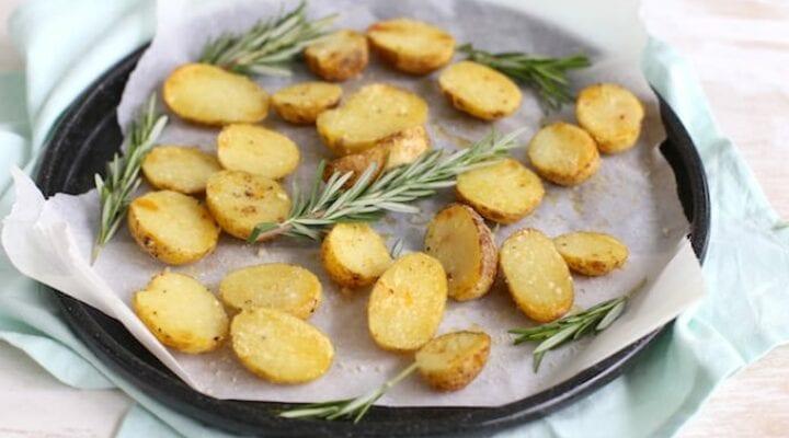 Parmezaanse krieltjes uit de oven