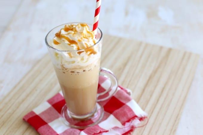 Karamel ijskoffie