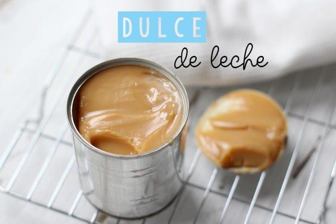 Dulce de leche maken